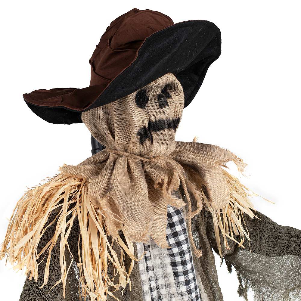 Animated Hanging Scarecrow Image #3