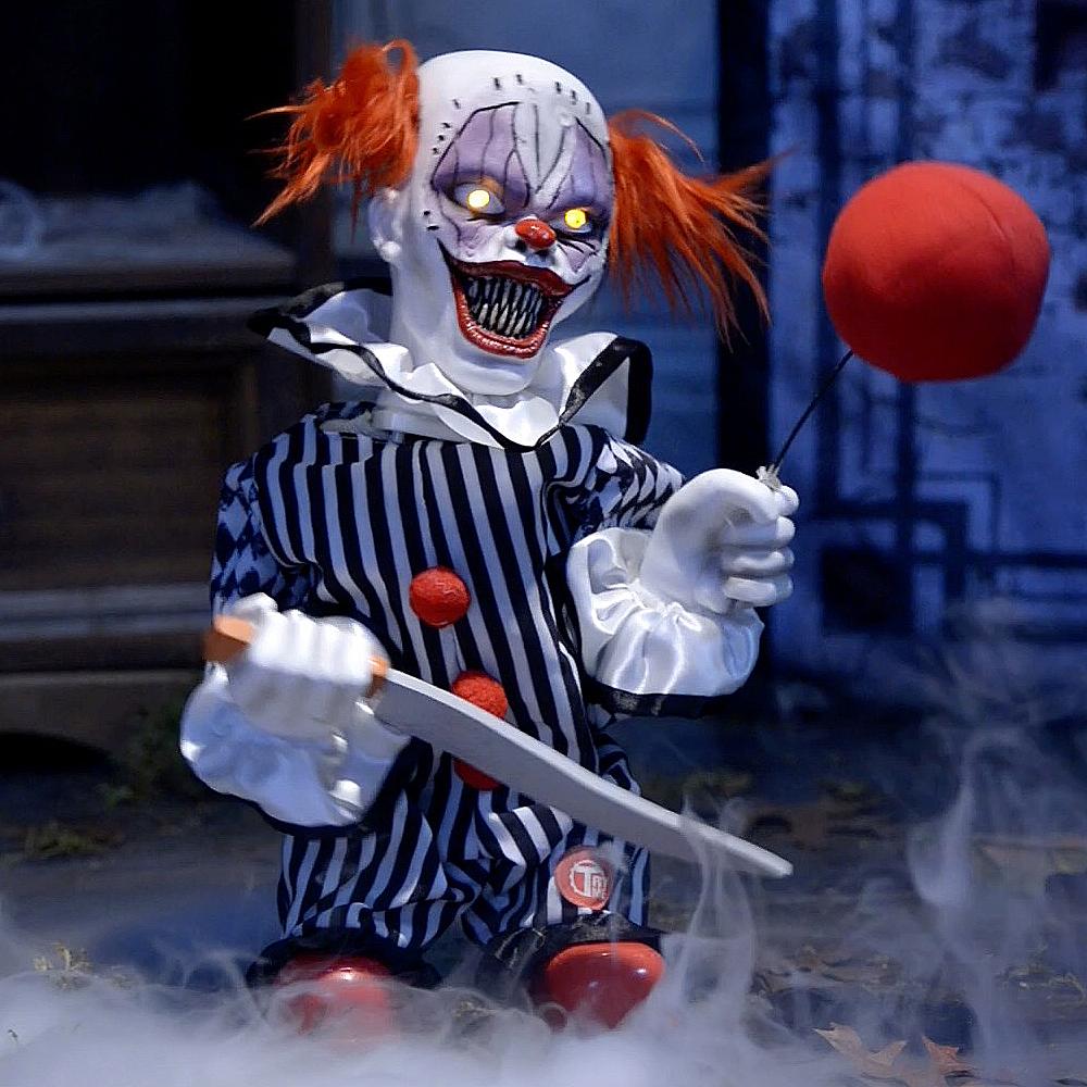 Animated Terror Clown