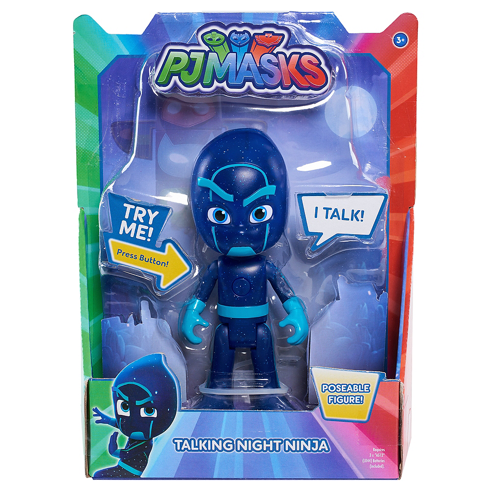 Nav Item for Talking Night Ninja Action Figure - PJ Masks Image #2