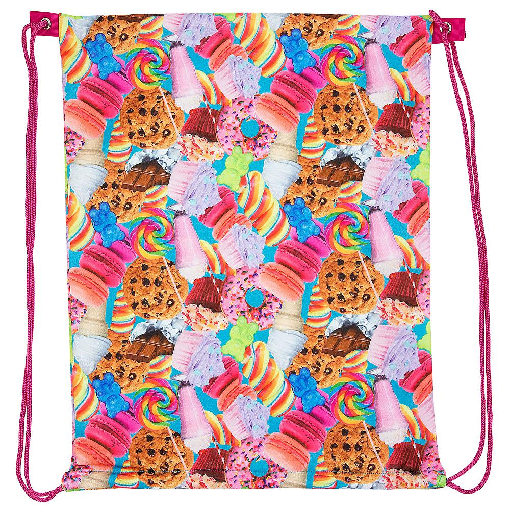 Colorful Desserts Drawstring Backpack Image #1