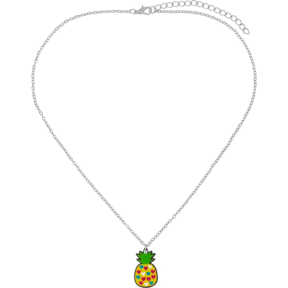 Pineapple, Rainbow, & Watermelon Jewelry Sets 3ct Image #2