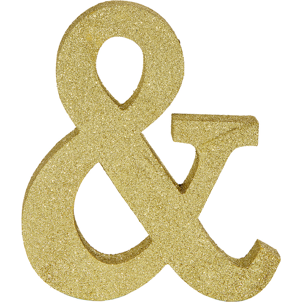 Glitter Gold & Symbol Sign Image #1