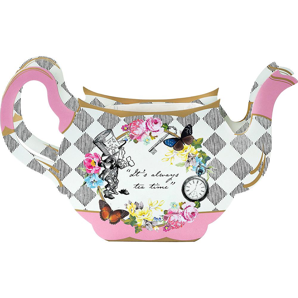 Alice in Wonderland Teapot Vase Centerpiece 11in x 6 1/2in | Party City