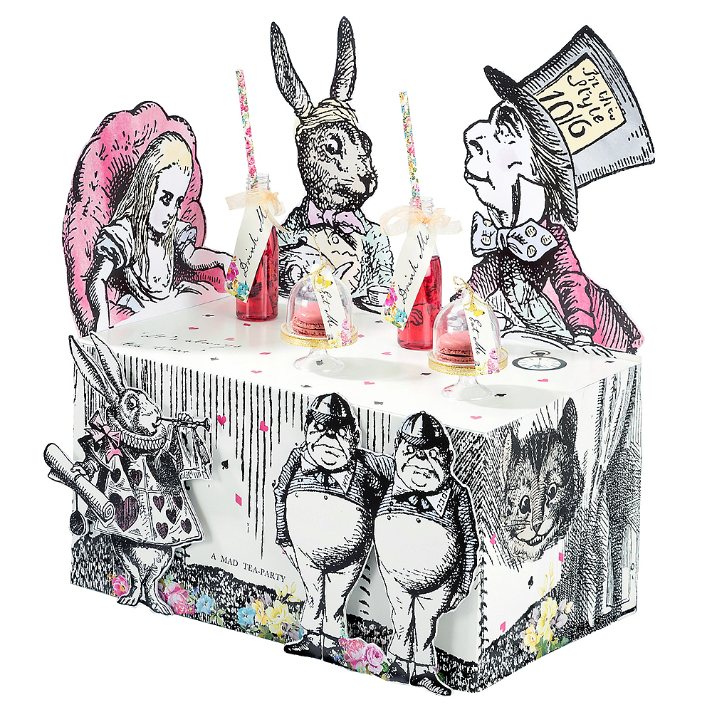 Alice in Wonderland Treat Table Image #1