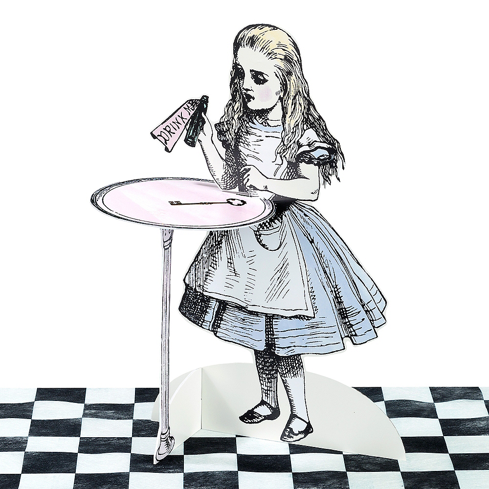 Alice in Wonderland Treat Stands 3ct Image #2