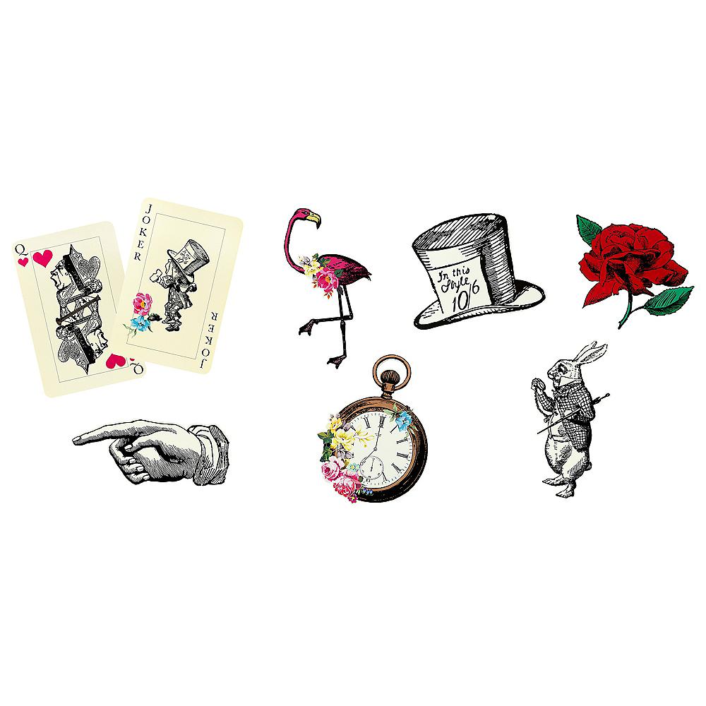 Alice in Wonderland Cutouts 8ct Image #1