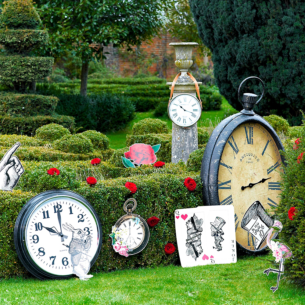 Alice in Wonderland Cutouts 8ct Image #2