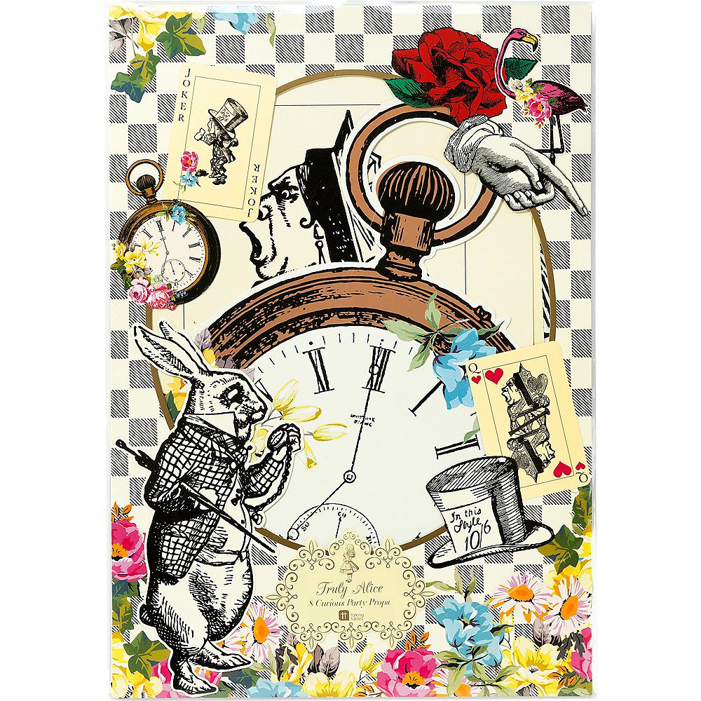 Alice in Wonderland Cutouts 8ct Image #3