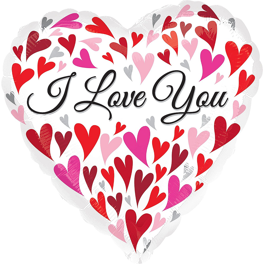 Pink & Red Heart Valentine's Day Balloon Kit Image #2