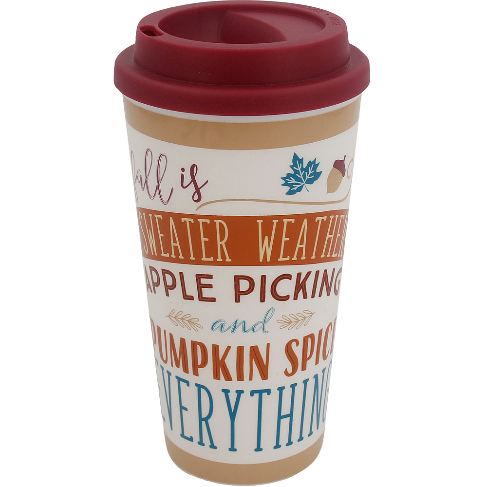 Fall Travel Mug Image #1