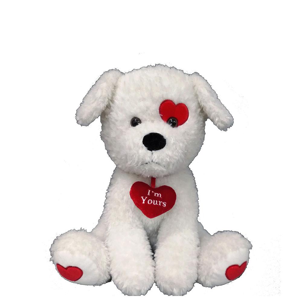 Red Heart Balloons & White Dog Plush Kit Image #2