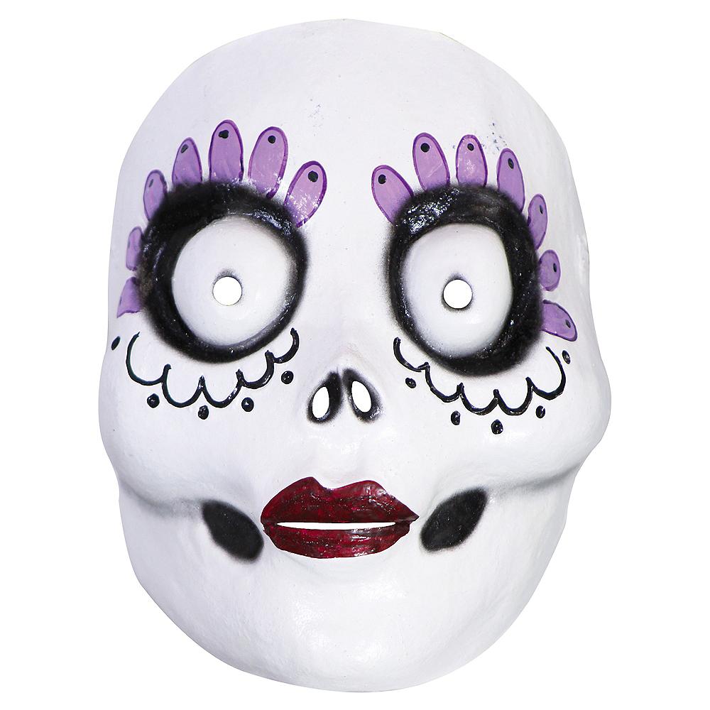La Catrina Mask 6 12in X 8in Party City