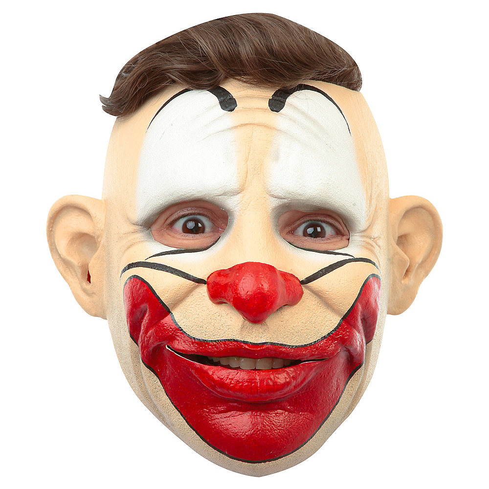 Hairless Friendly Clown Mask Image #1