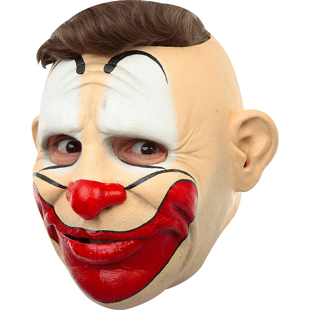Hairless Friendly Clown Mask Image #2