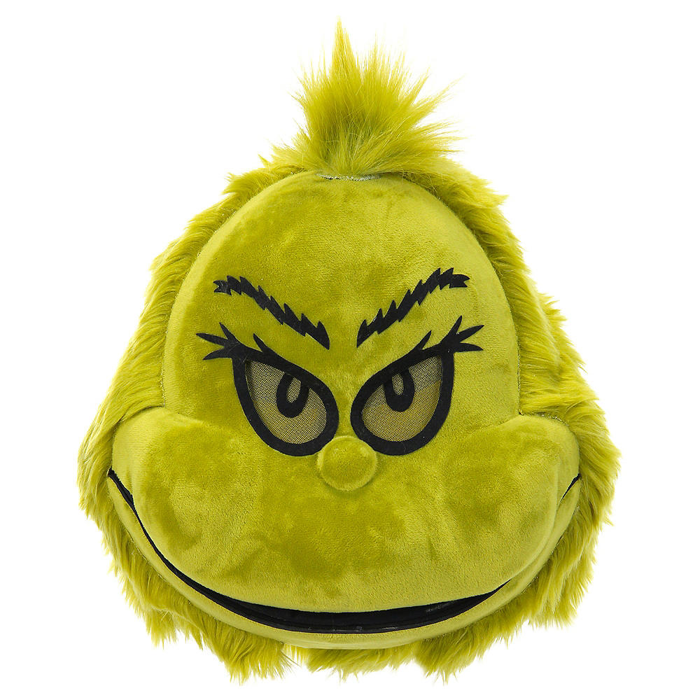 Plush Grinch Mouth Mover Mask - Dr. Seuss Image #1