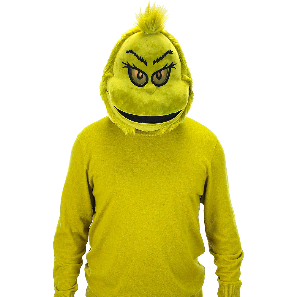 Plush Grinch Mouth Mover Mask - Dr. Seuss Image #2