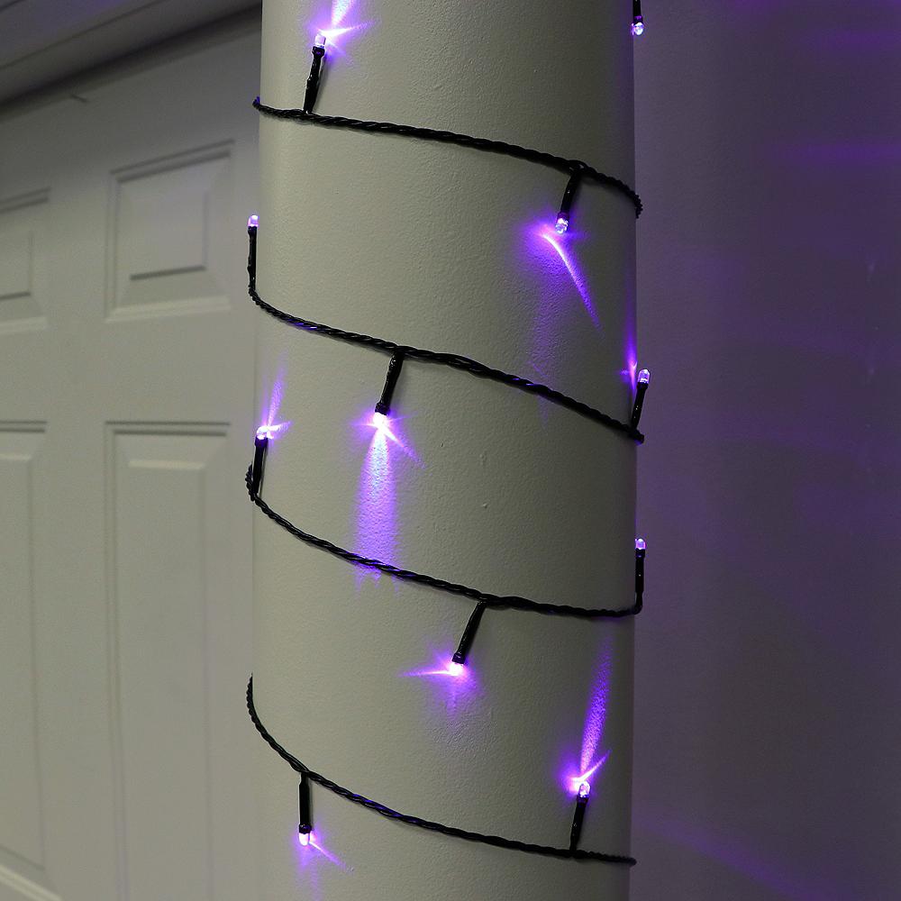 Orange & Purple String Lights Image #3