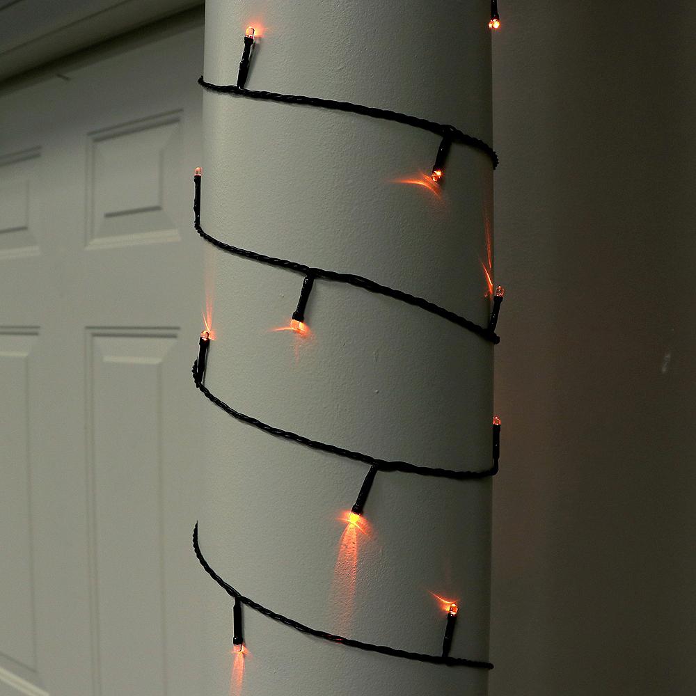 Orange & Purple String Lights Image #4