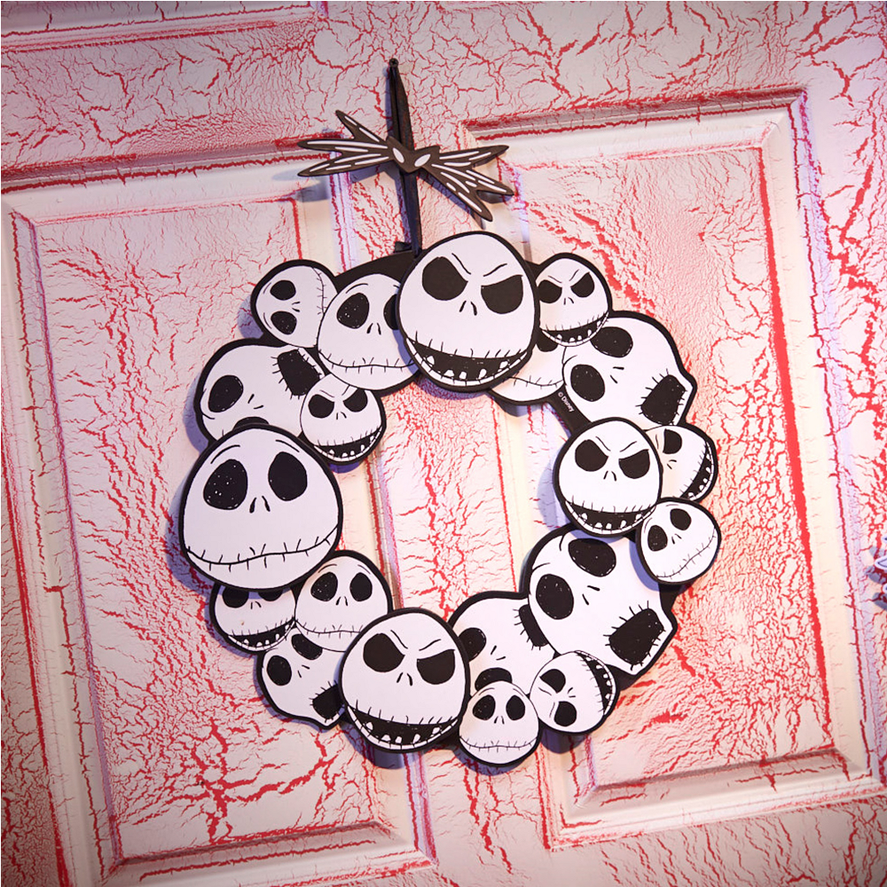 jack skellington wreath sign the nightmare before christmas image 2