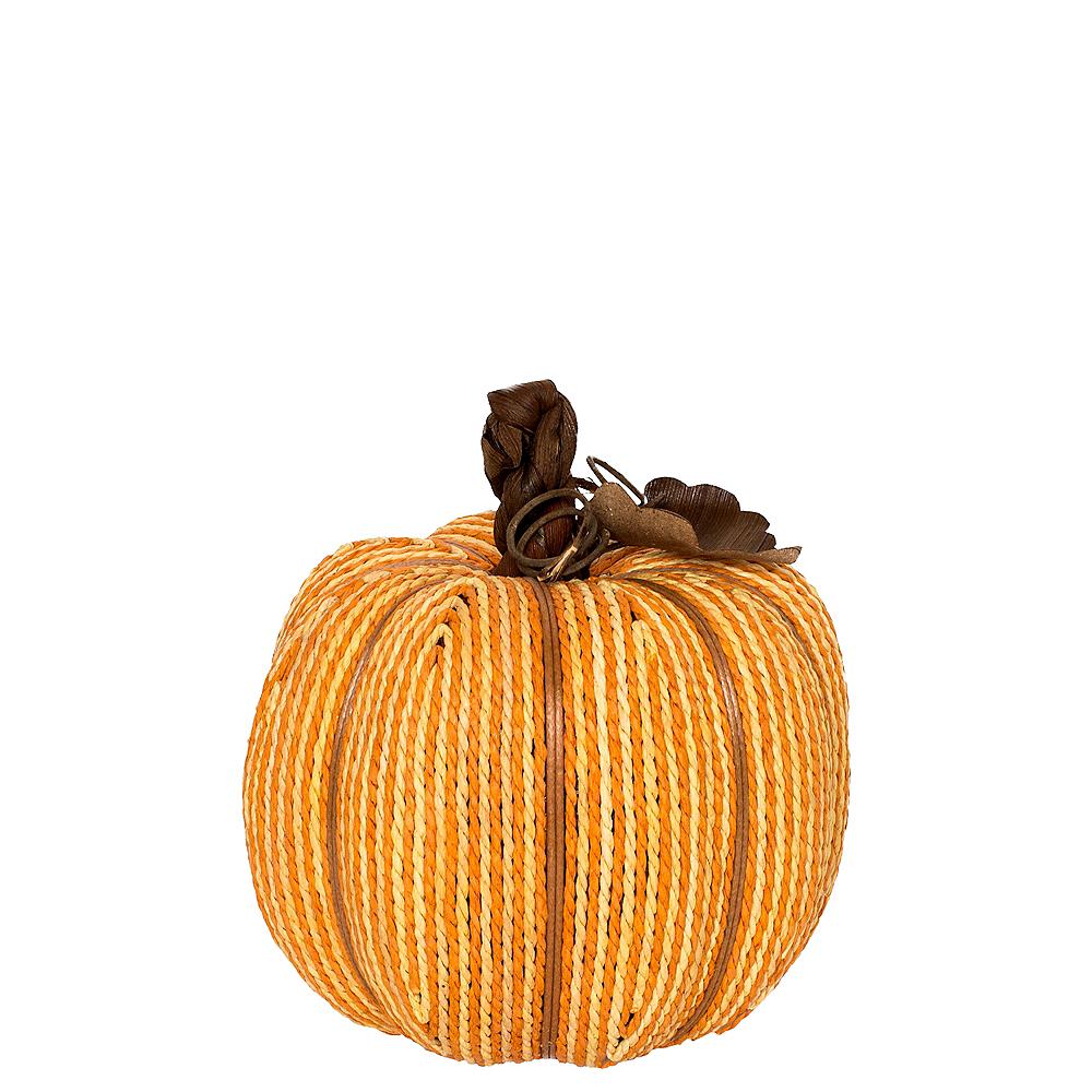 Two-Tone Rope Pumpkin Image #1