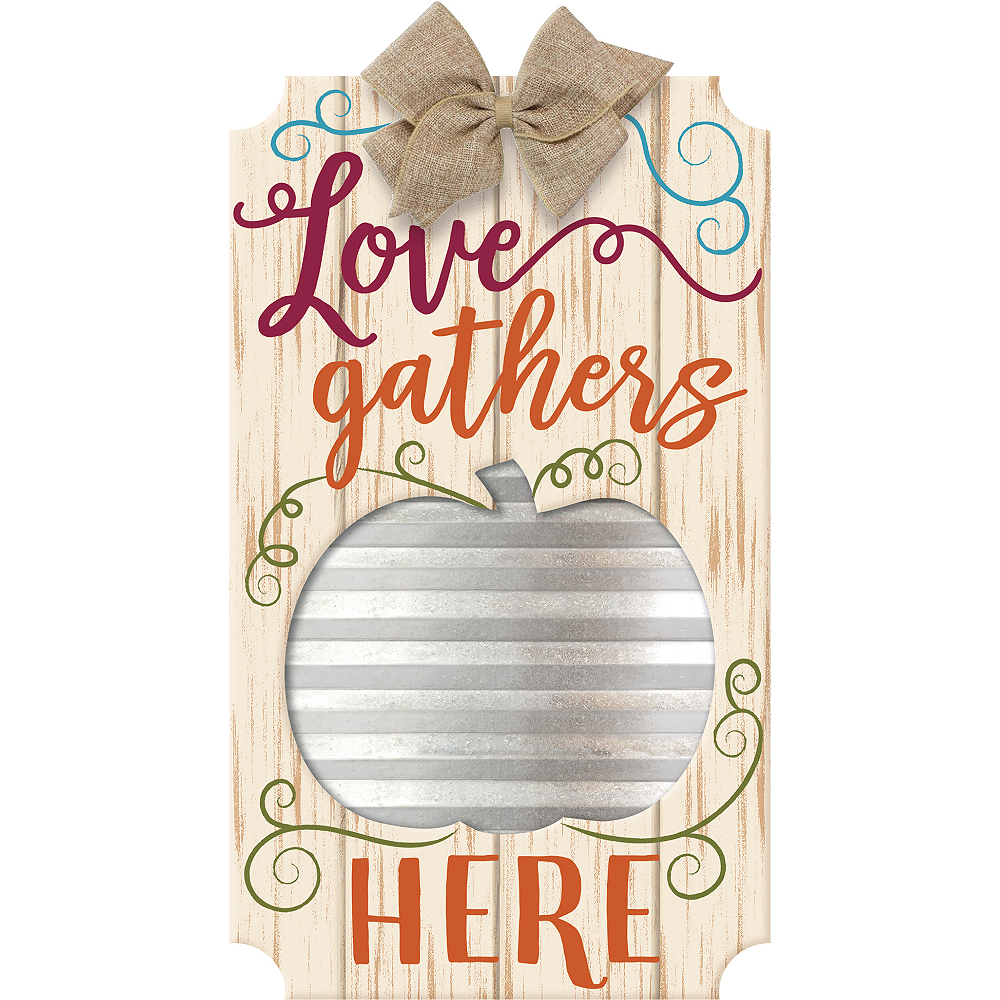 Love Gathers Here Sign Image #1