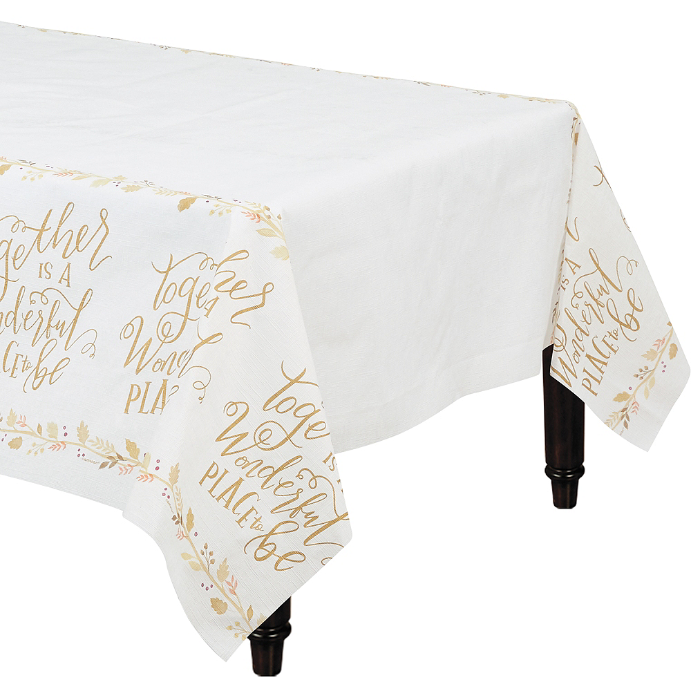 Together is a Wonderful Place Table Cover Image #1
