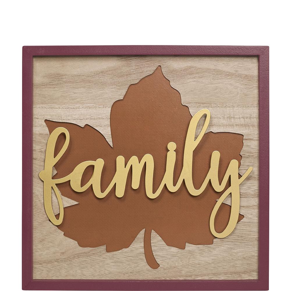 Family Leaf Sign Image #1