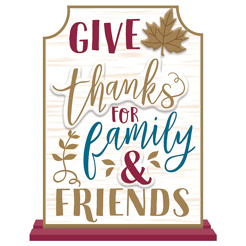Give Thanks Sign Image #1