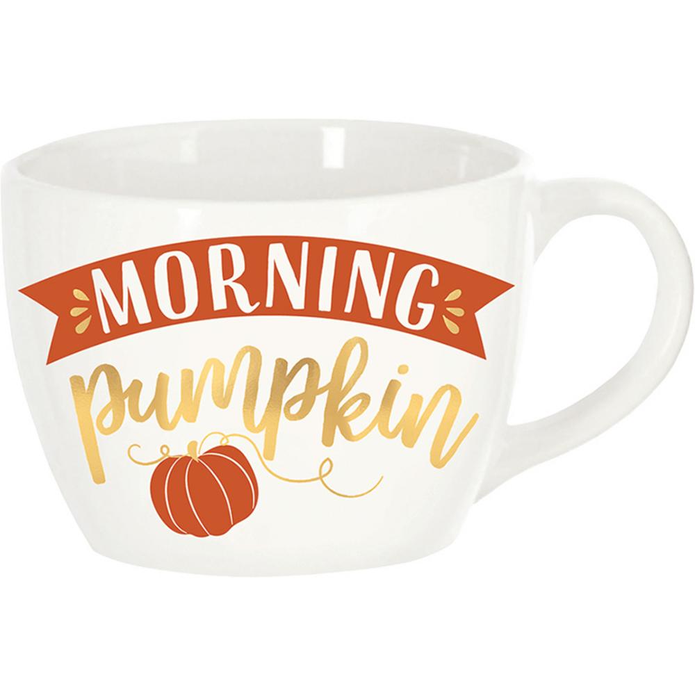 Morning Pumpkin Coffee Mug Image #1