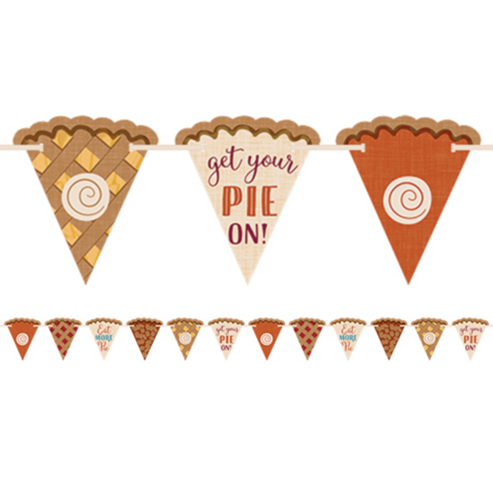 Pie Pennant Banner Image #1