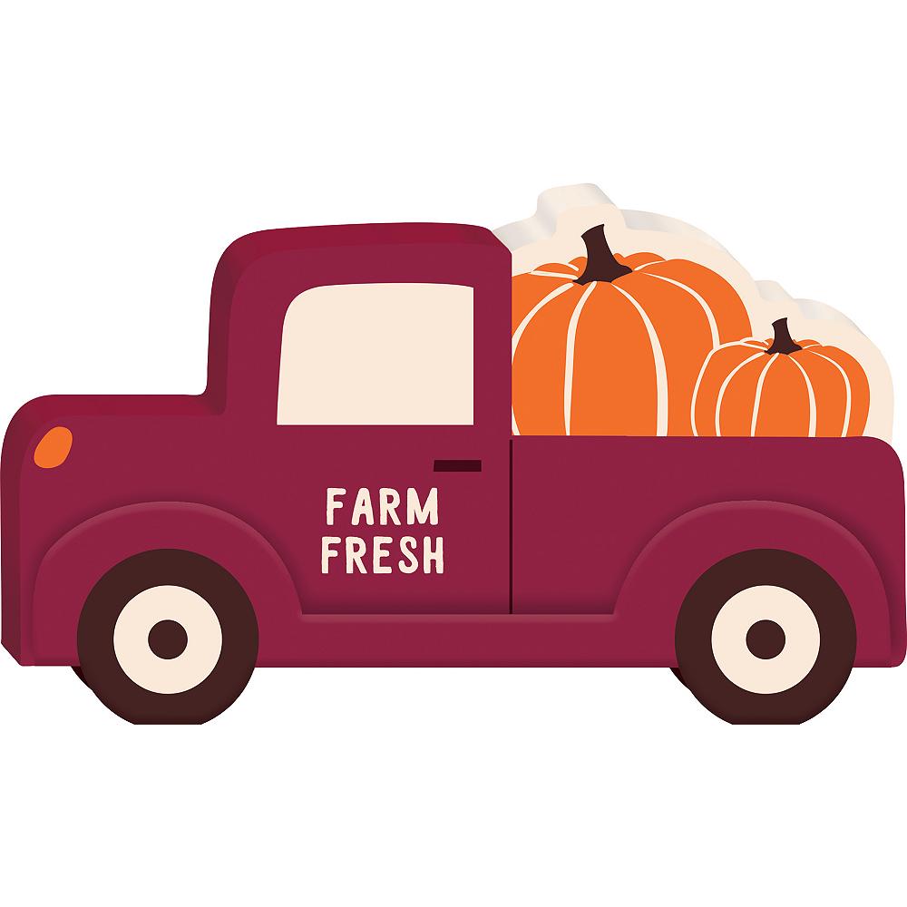 Pumpkin Pick-Up Truck Sign Image #1