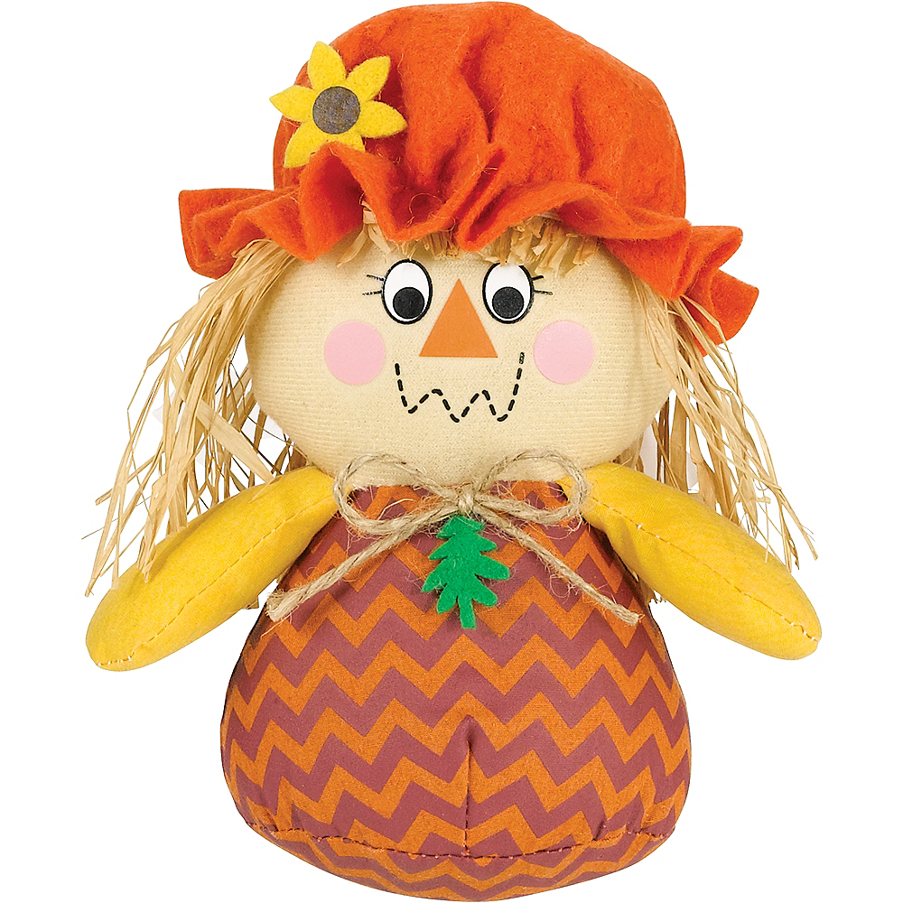 Roly Poly Scarecrow Girl Image #1