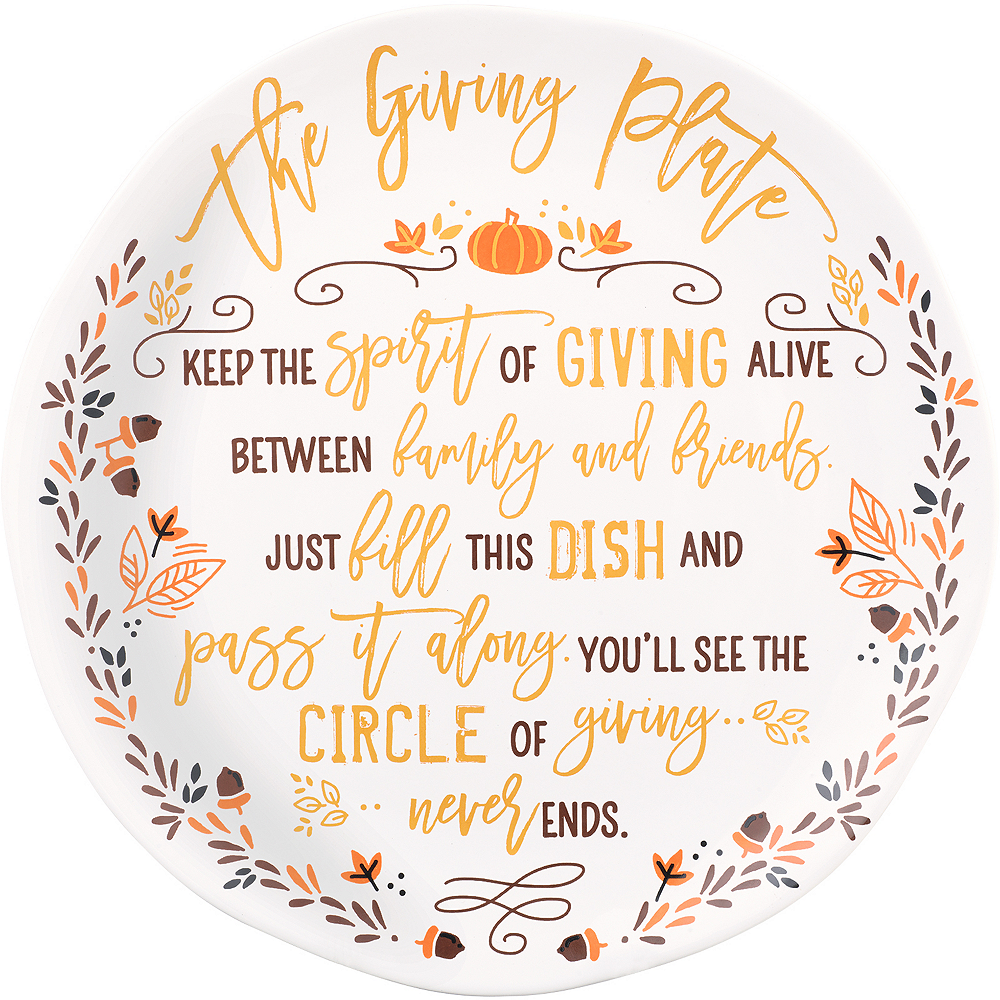 The Giving Plate Image #1