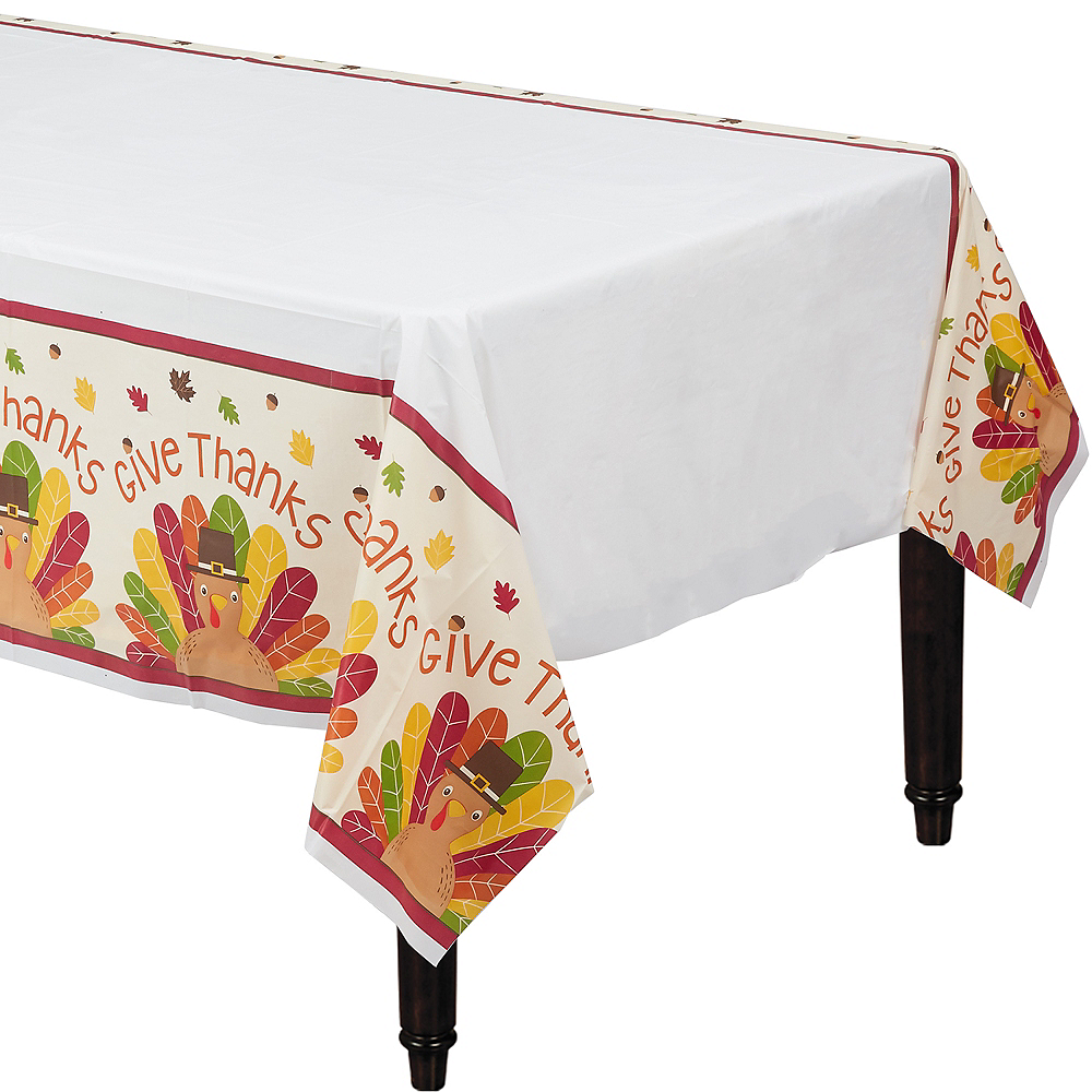 Thanksgiving Turkey Table Cover Image #1