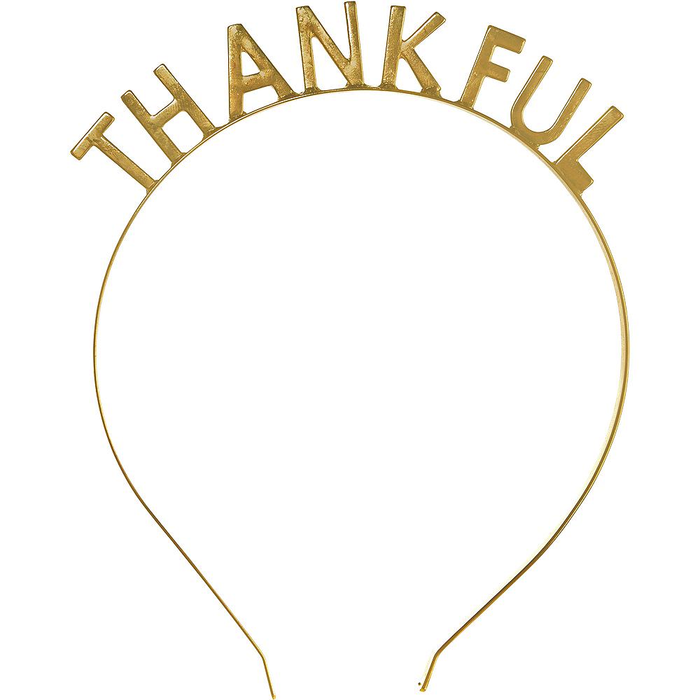 Thankful Thanksgiving Headband Image #1
