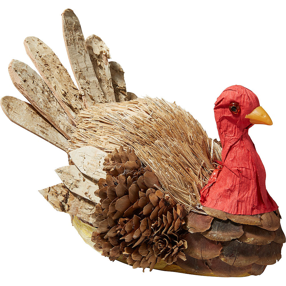 Rustic Turkey Decoration Image #1