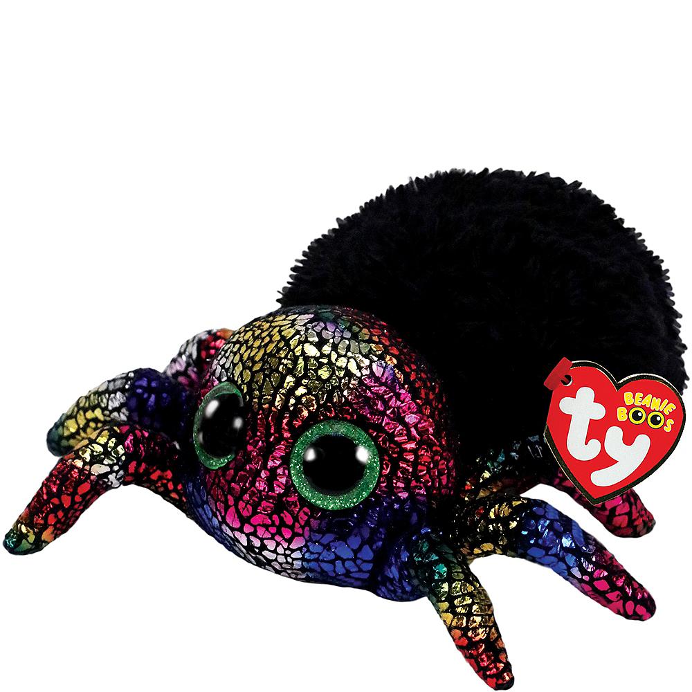 leggz beanie boo spider plush image 1