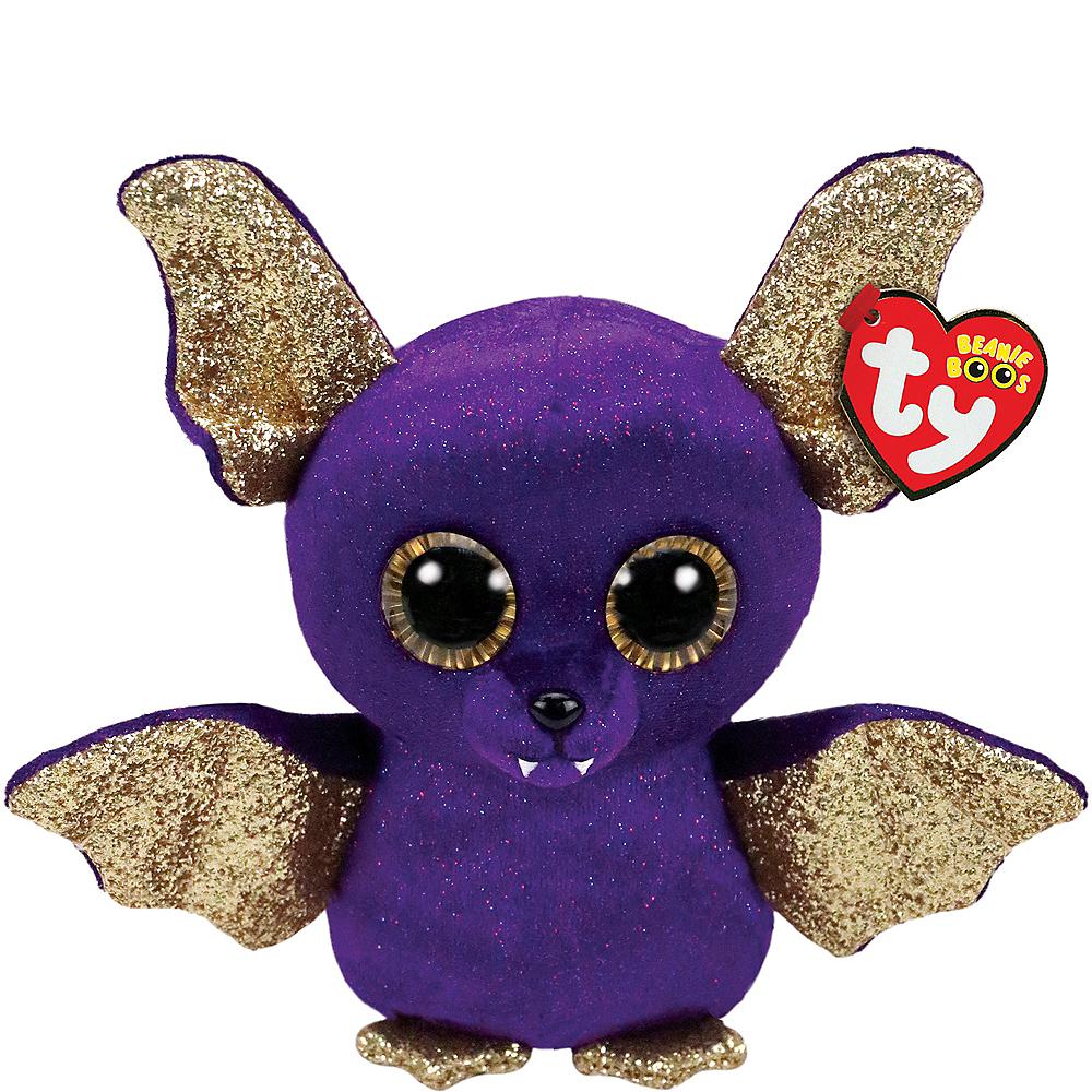 0c17a5fbd58 Count Beanie Boo Bat Plush 8in x 7in