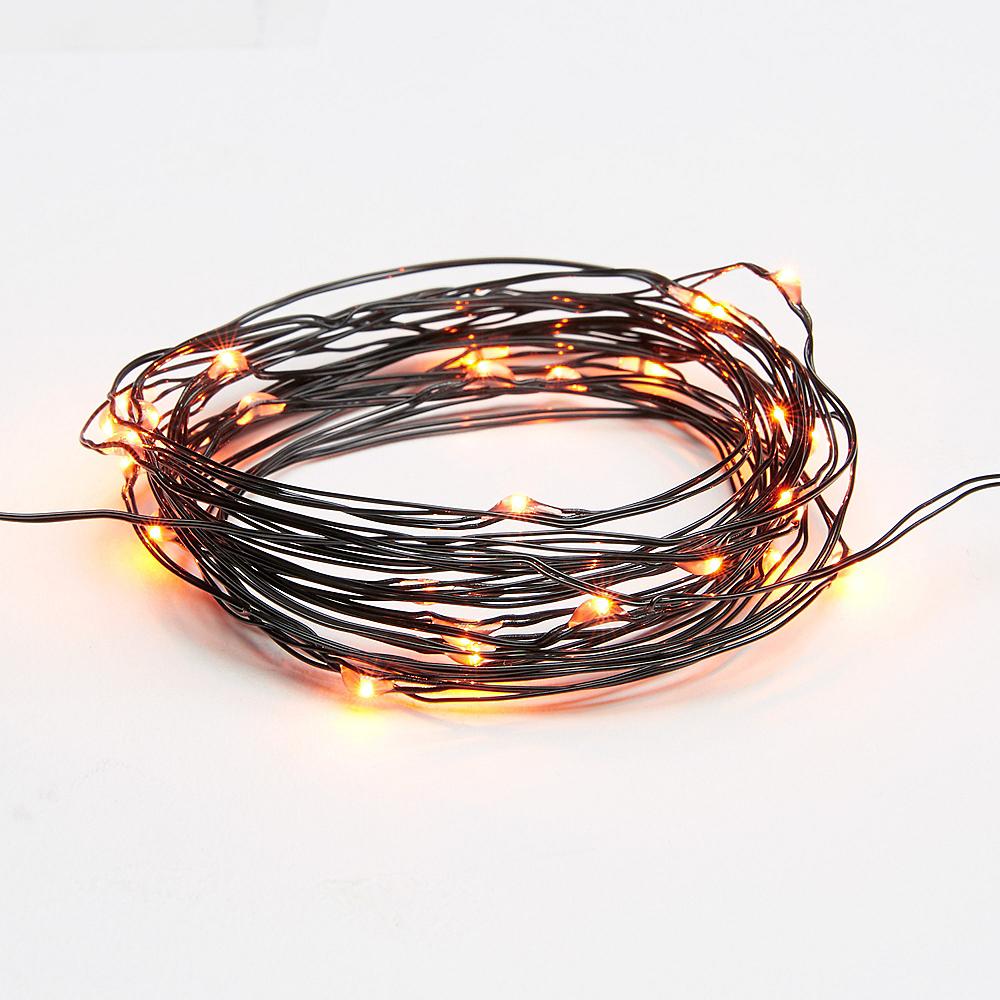 Small Orange String Lights Image #2