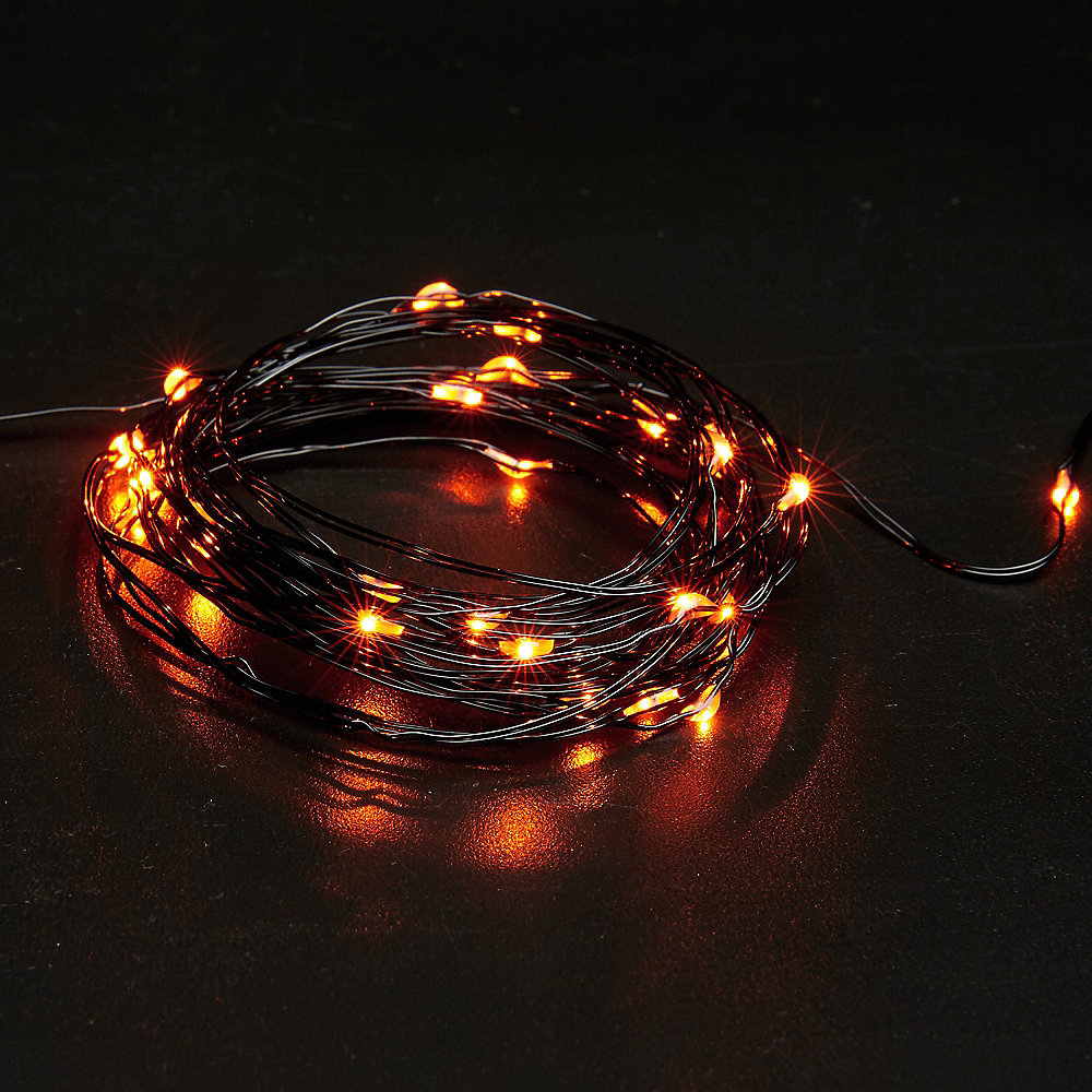 Small Orange String Lights Image #3