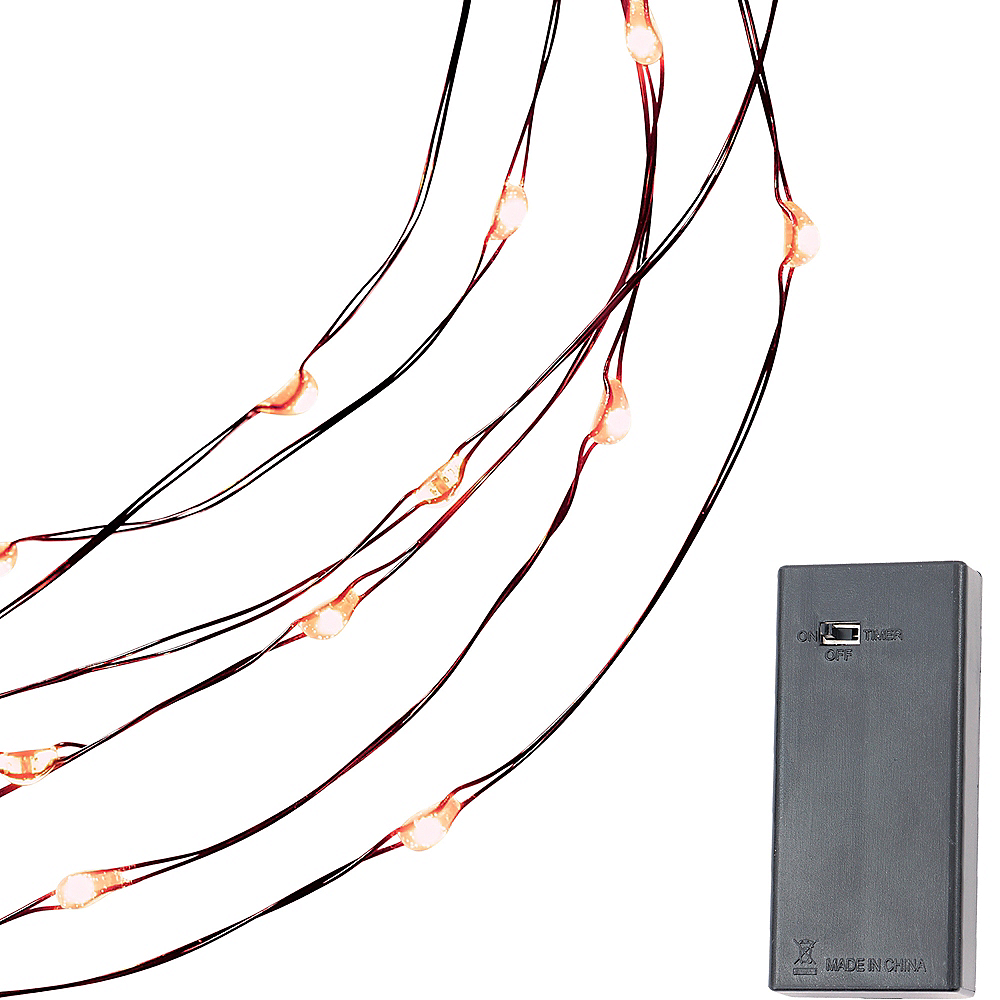 Small Orange String Lights Image #4