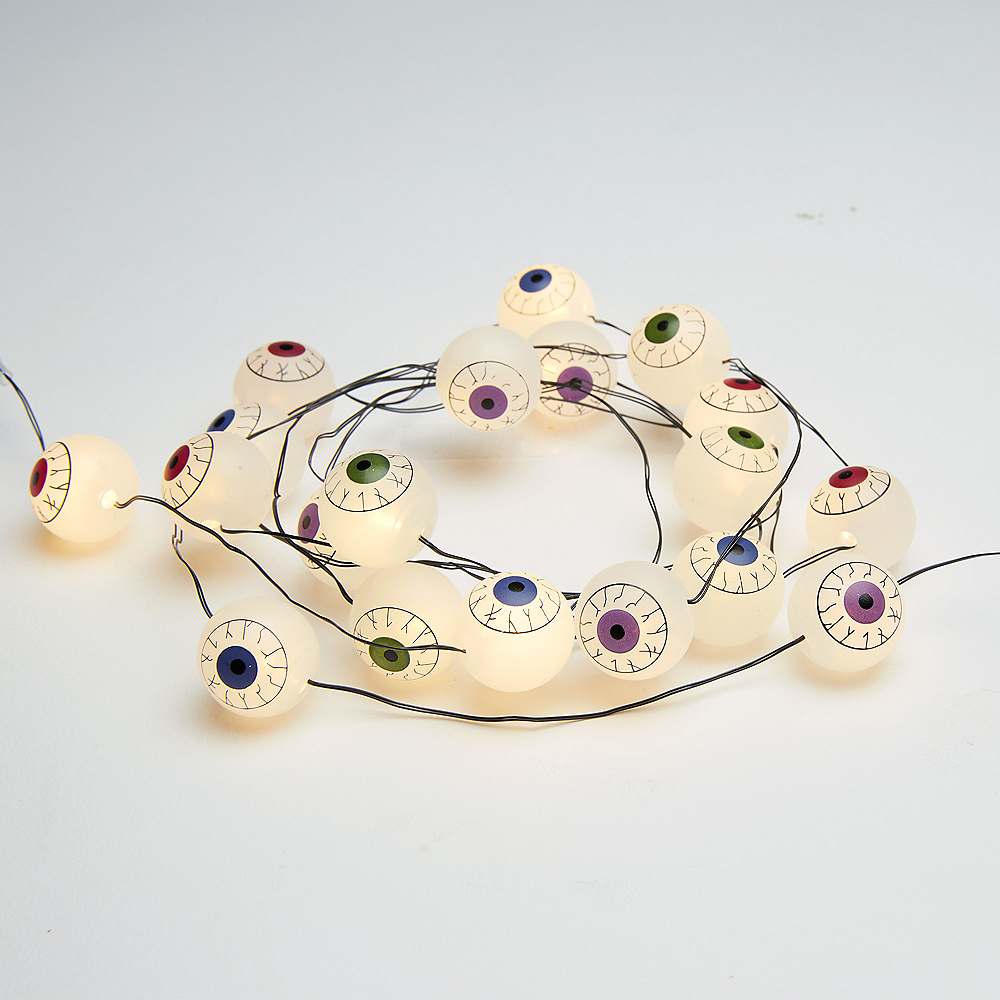 Colorful Eyeball String Lights Image #2