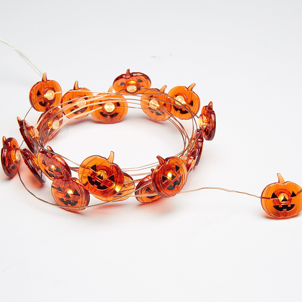 Jack-o'-Lantern String Lights Image #2