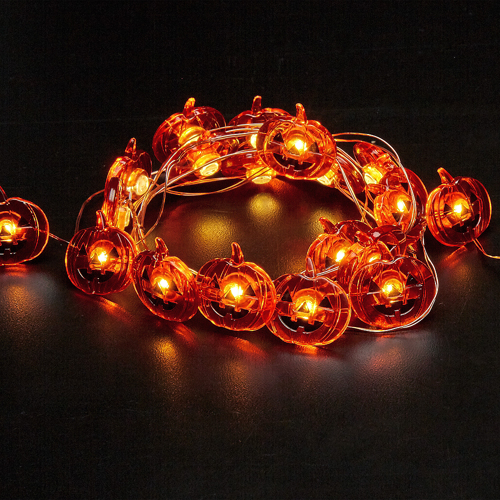 Jack-o'-Lantern String Lights Image #3