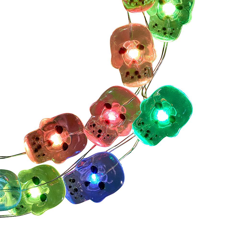 Colorful Skull String Lights Image #1