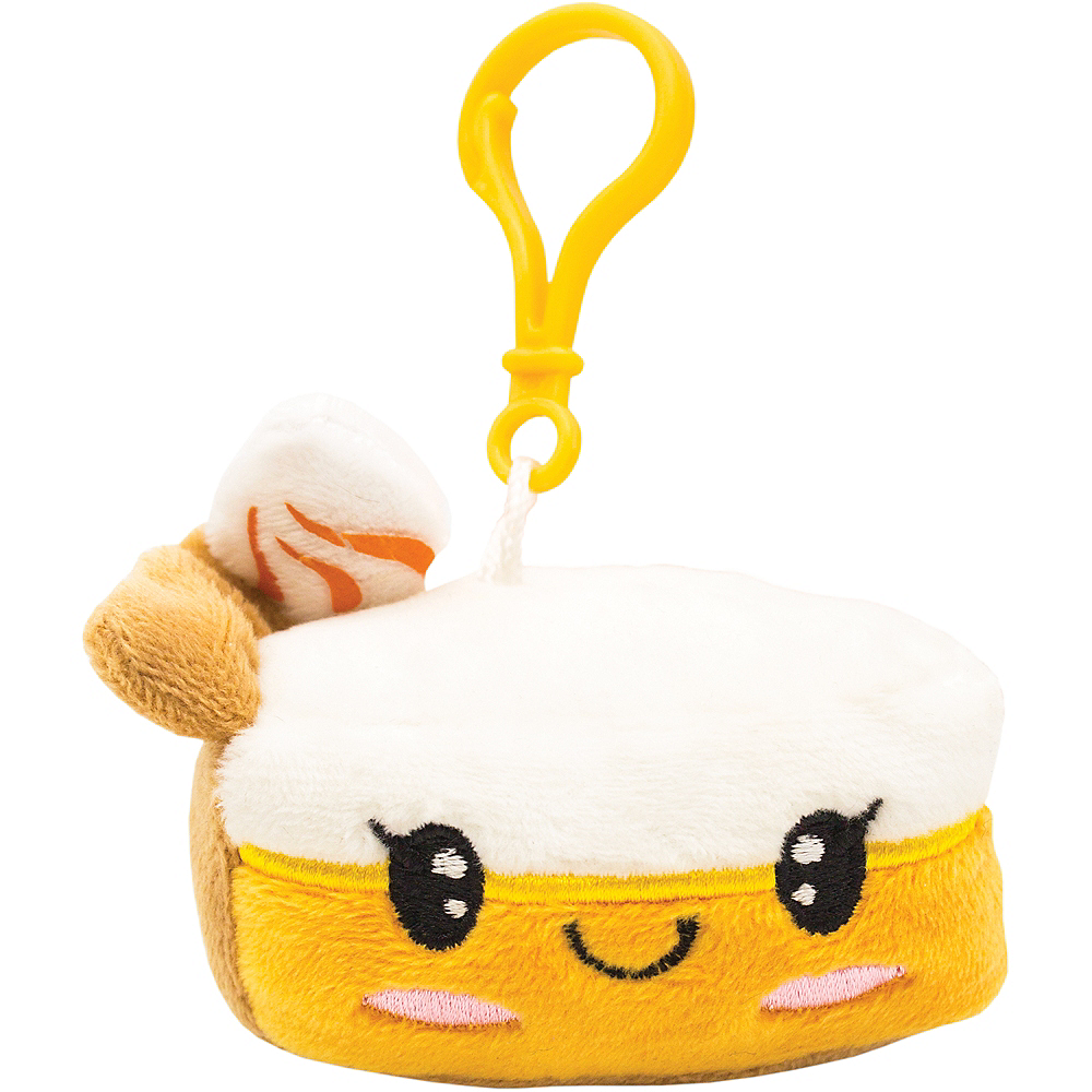 Clip-On Pumpkin Pie-Scented Backpack Buddies Plush Image #1
