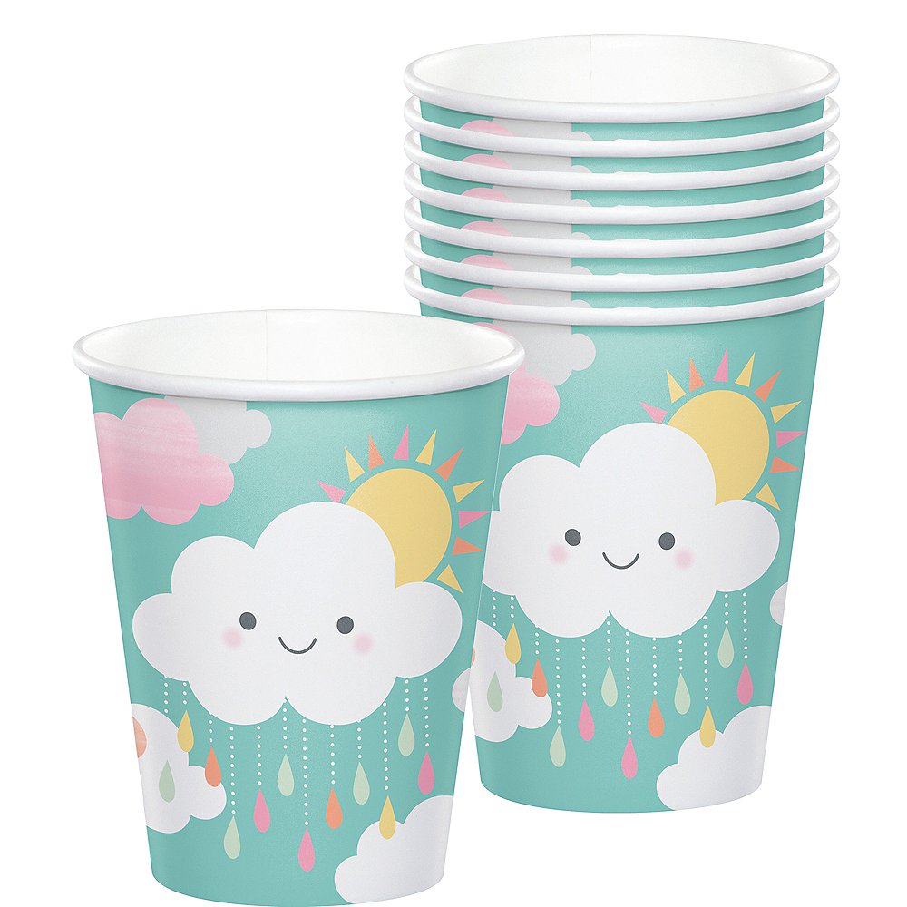 Happy Clouds Cups 8ct Image #1