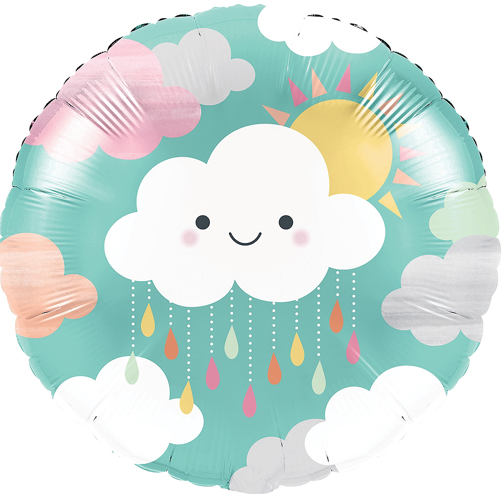 Happy Clouds Balloon Image #1