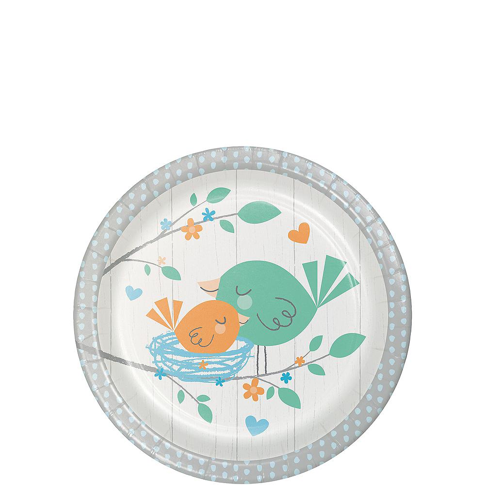 Hello Boy Dessert Plates 8ct Image #1