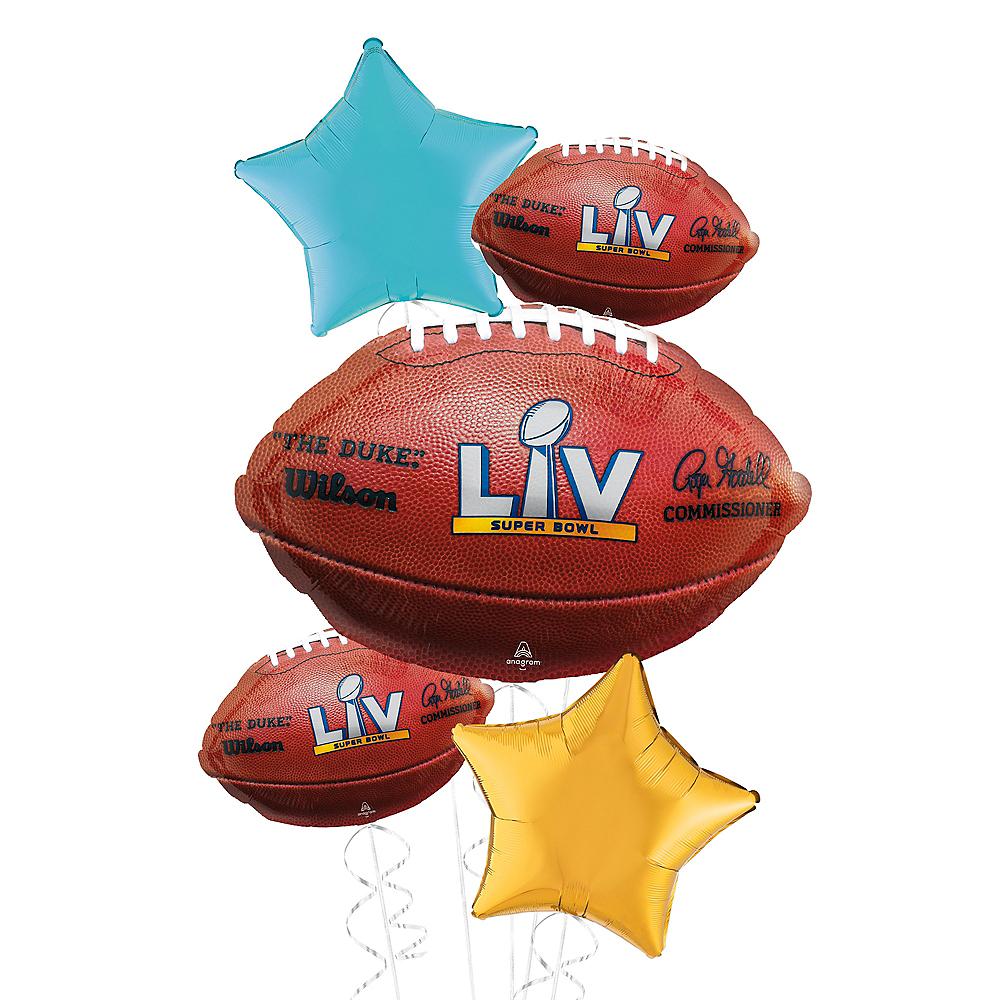 Giant Super Bowl Deluxe Balloon Kit Image #1